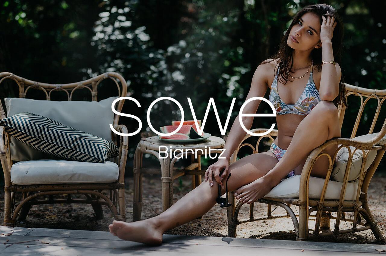 Création du site e-commerce Sowe par Greentic